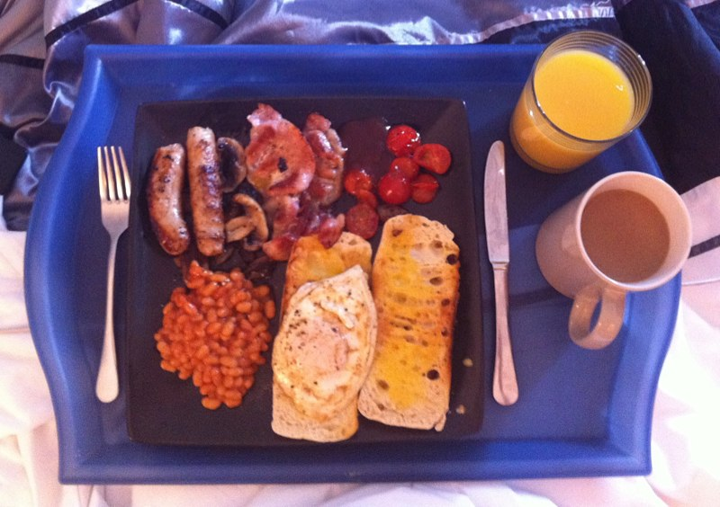 #breakfast in bed #sunday , Eventful