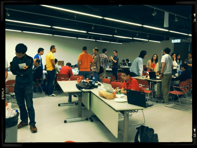 Startup weekend. Happy to participate as a mentor this year.