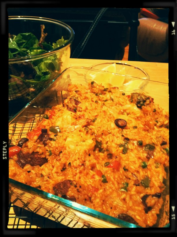 Final product - Paella