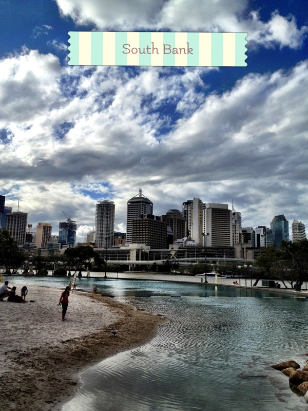 Back to my hometown, Brisbane!, South Bank